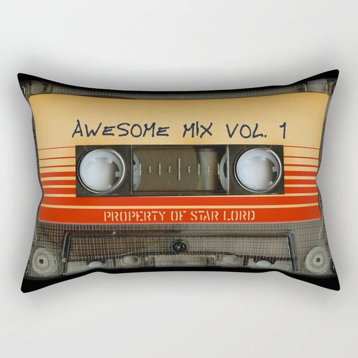Awesome transparent mix cassette tape volume 1 iPhone 4 4s 5 5c 6, pillow case, mugs and tshirt Rectangular Pillow