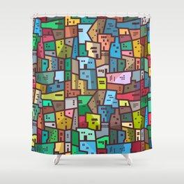 Urban Civilization Shower Curtain