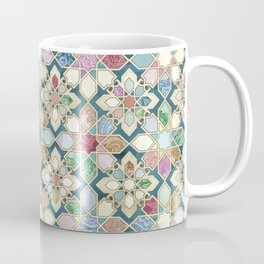 Muted Moroccan Mosaic Tiles Coffee Mug