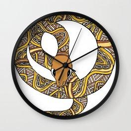 Rainbow Serpent Wall Clock