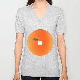 Orange out of the box Unisex V-Neck
