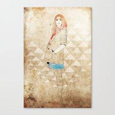 Girl One Canvas Print