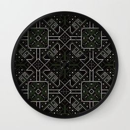 Ethnic Patterns Wall Clock