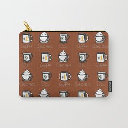 Hot Drinks (Brown) Carry-All Pouch