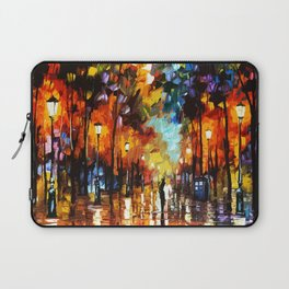 Tardis Art And The Couple Starry Night Laptop Sleeve