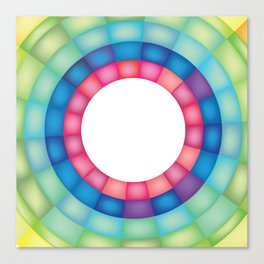 Grid Study - Close Up Canvas Print