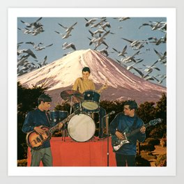 Far East Tour Art Print