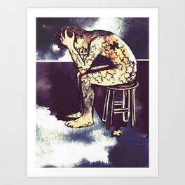 Blackened Sky/Puzzle Art Print