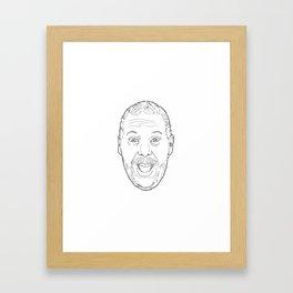 bert kreischer Framed Art Print