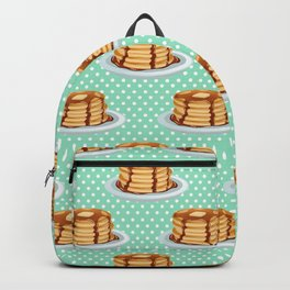 Pancakes & Dots Pattern Backpack
