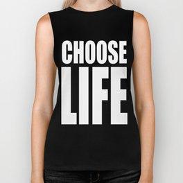 CHOOSE LIFE - WHAM! Biker Tank