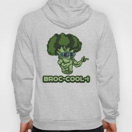 BROC-COOL-I | Broccoli Plant Vegetables Vegan Hoody