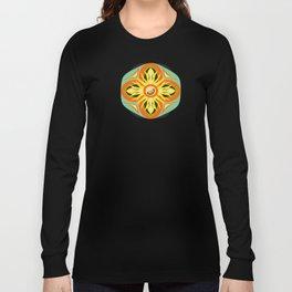 llama mandala pattern Long Sleeve T-shirt