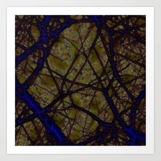 verity emigrates into notions Art Print