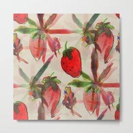 Strawberry Kush  Metal Print
