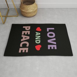 Love and Peace Rug