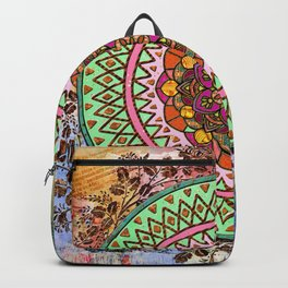 Circle of Flowers Backpack