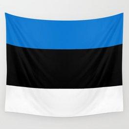 Flag: Estonia Wall Tapestry