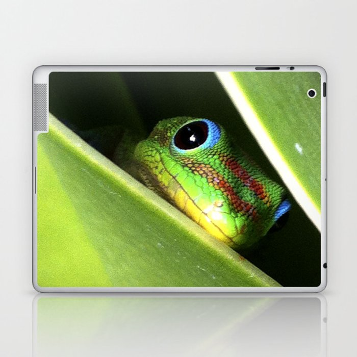Eyes in the Grass Laptop & iPad Skin