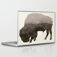 bison Laptop & iPad Skins featuring Bison by Outdoor Bro