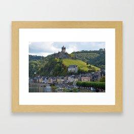 Cochem Castle Framed Art Print