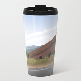 The Rocks Here Are Red Travel Mug