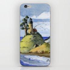 Peaceful Lighthouse IV iPhone & iPod Skin