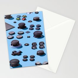 Sticks and Buttons Stationery Cards
