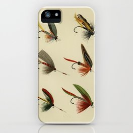Lake Flies from Favorite Flies and Their Histories by Mary Orvis Marbury.3 iPhone Case