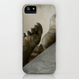 StoneFeet iPhone Case