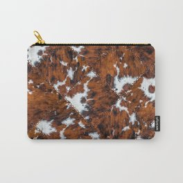 Glamorous Cowhide Closeup Texture [v.2021] Carry-All Pouch