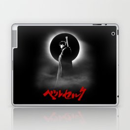 The Black Swordsman Laptop & iPad Skin