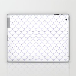 Mermaid Scales in Purple Laptop & iPad Skin