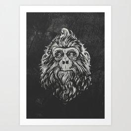 Monky Art Print