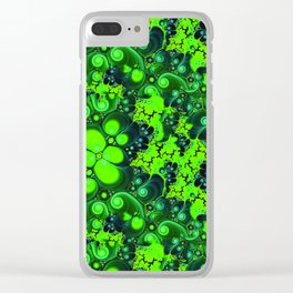 Fractals Clear iPhone Case
