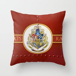Red  Hp Throw Pillow
