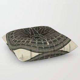 Compass Floor Pillow