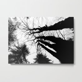 Inky Giants Metal Print