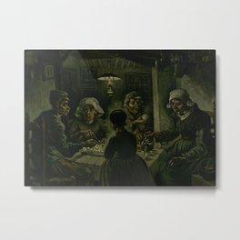 The Potato Eaters Metal Print