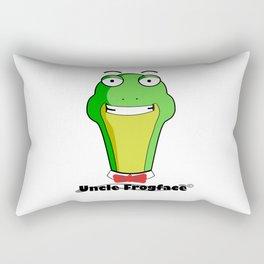 Uncle Frogface Rectangular Pillow