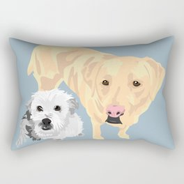McGee and Abbie Rectangular Pillow