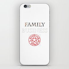 family business iPhone & iPod Skin