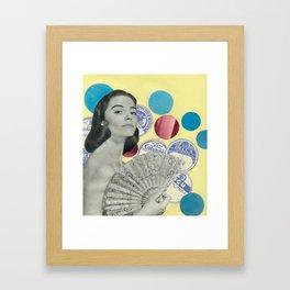 Fan Club Framed Art Print