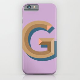g iPhone Case