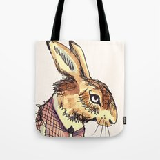 Rabbits Garden Tote Bag