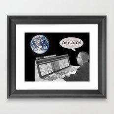 Playing Around Framed Art Print