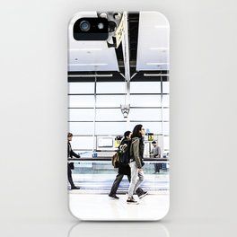 airport hurry iPhone Case