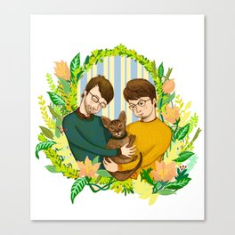 One Happy Family Canvas Print