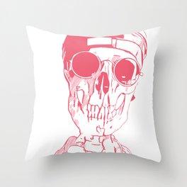 California Grunge Throw Pillow