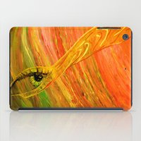 all seeing eye iPad Cases featuring All Seeing Eye by Ana Lillith Bar